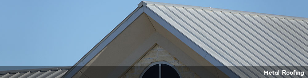 Example of metal roofing