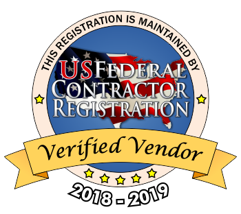 US Federal Contractor Registration Seal